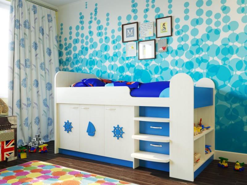 Кровать чердак для мальчика фото